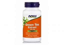 Заказать NOW Green Tea Extract 400 мг 60% 100 капс