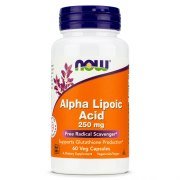 NOW Alpha Lipoic Acid 250 мг 60 вег капс
