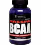 Заказать Ultimate BCAA Massive 1000 мг 60 капс