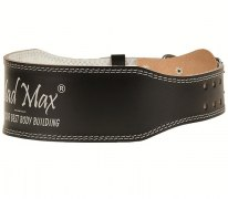 Заказать MadMax Пояс Full Leather Belt MFB245\BK