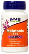 Заказать NOW Melatonin 3 мг 90 жев. капс